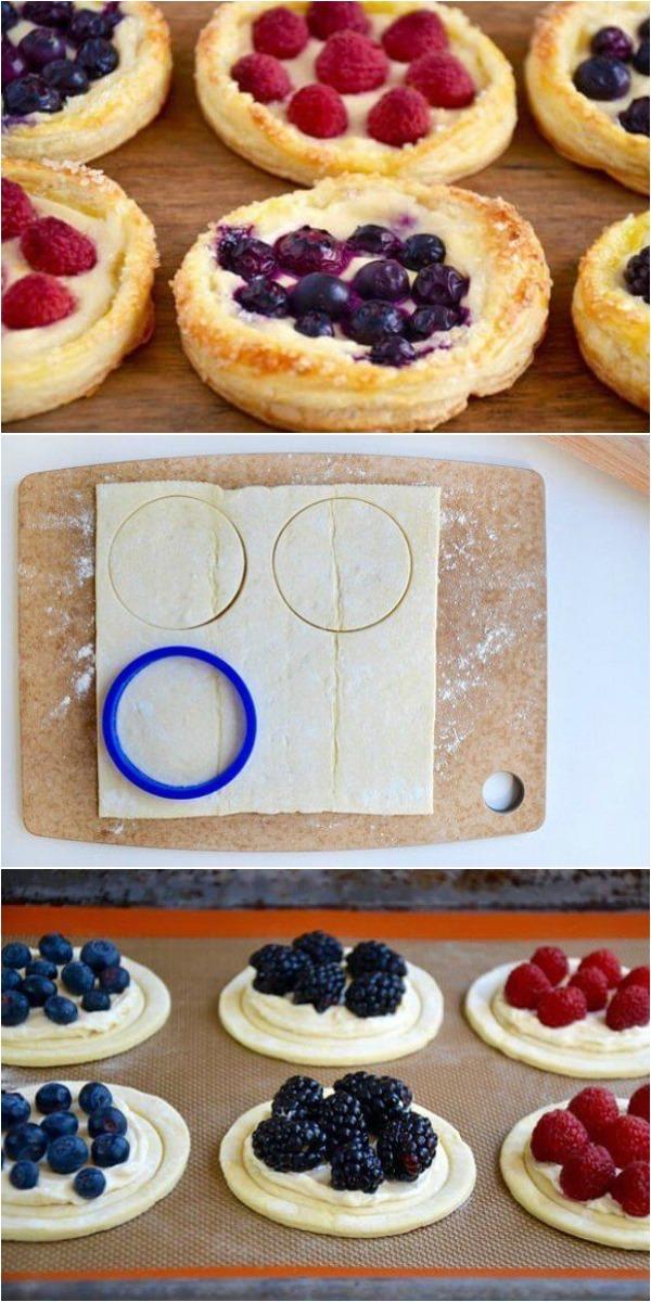 Невероятно вкусные слоеные тарталетки всего за 30 минут из простых ингредиентов
