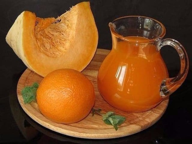 Тыквенный сок с апельсином!