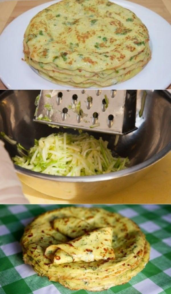 Тонкие блины из кабачков: идеальный рецепт. Готовлю весь сезон.