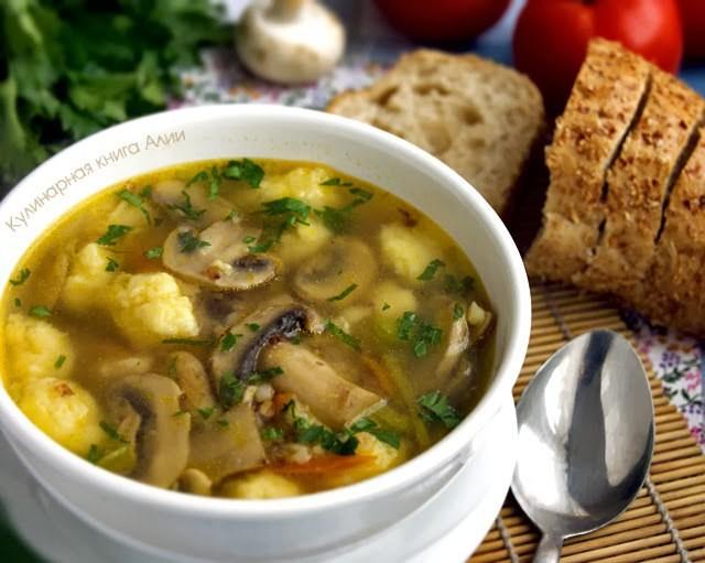 ОБАЛДЕННЫЙ гречневый суп с грибами и картофельными клецками — РЕЦЕПТ ИЗ СИБИРИ