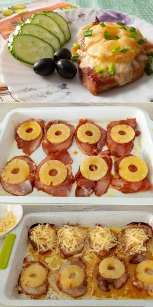 Мясо с ананасами зaслуживaют «5+»!