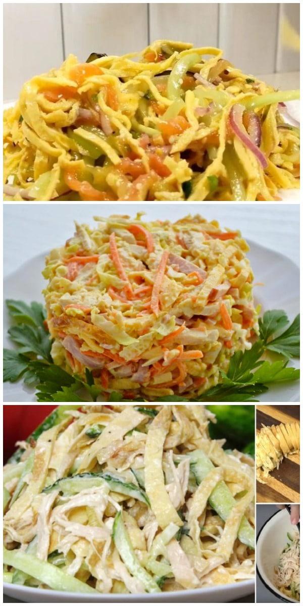 Вкуснейший салат без майонеза – нет ничего вкуснее в мире!