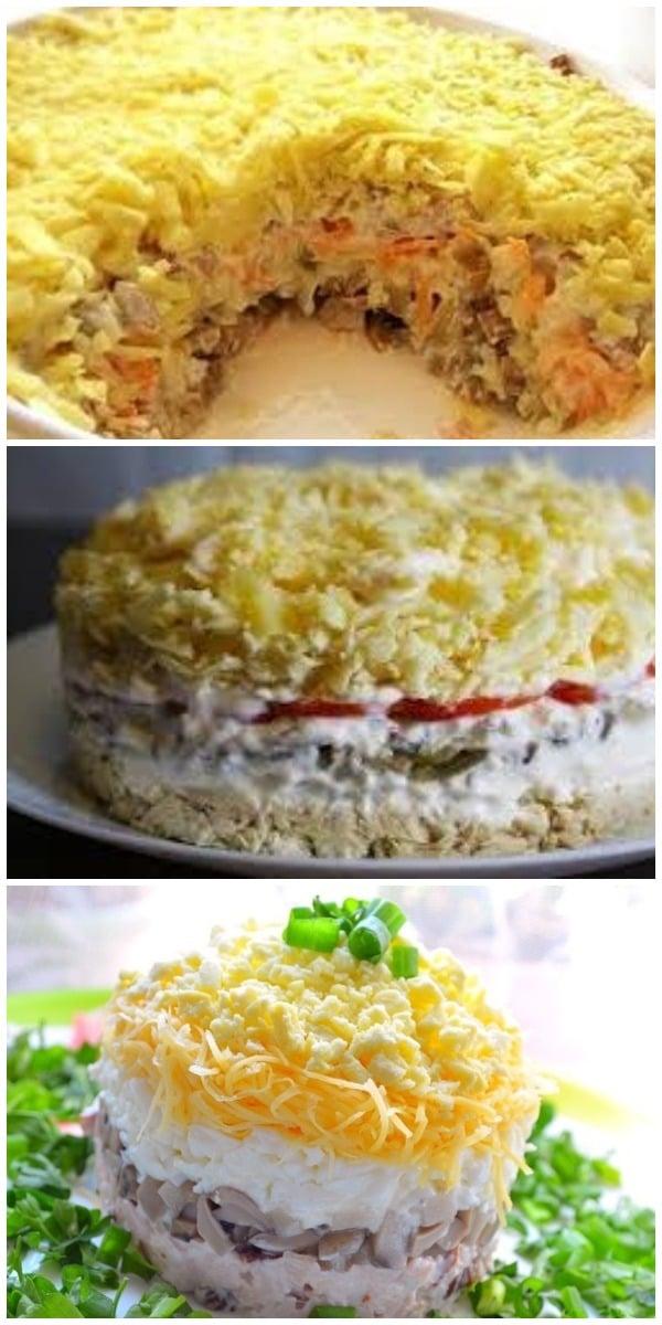 Такой салат готовь хоть каждый день «Белая ночь»