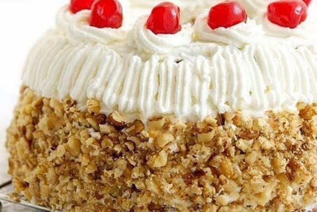 Торт «Маша». Очень трудно оторваться.