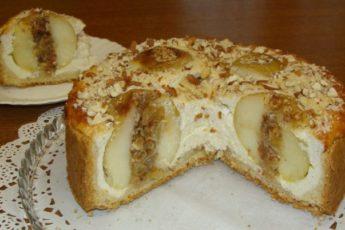Заливной пирог с яблоками… Очень вкусный, сочный, просто сказка