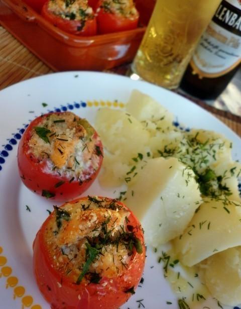 Век живи - Век учись! Фаршированные помидоры рыбой — по вкусу 100 % заявка!