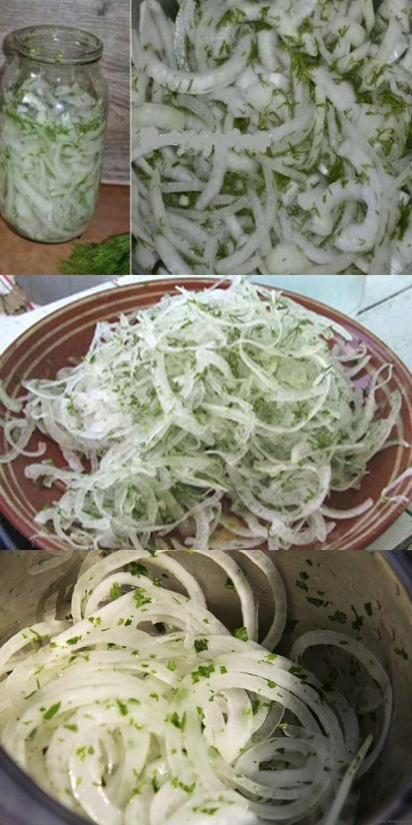 Лук получается очень вкусным,им можно и отбивную посыпать и в салатик добавить, а можно и просто так с хлебушком свежим покушать.